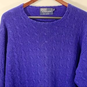 Polo by Ralph Lauren Cable Knit Cashmere Sweater